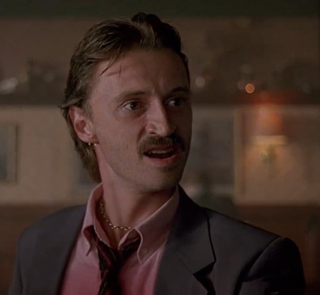 Begbie closeup from Trainspotting