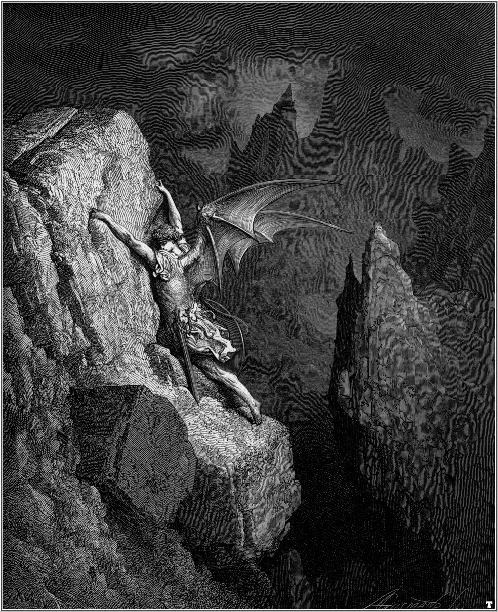 Fall Of Lucifer: John Milton – Paradise Lost
