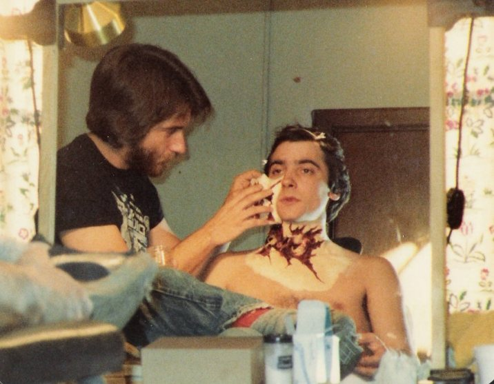 rick-baker-working-on-griffin-dunne
