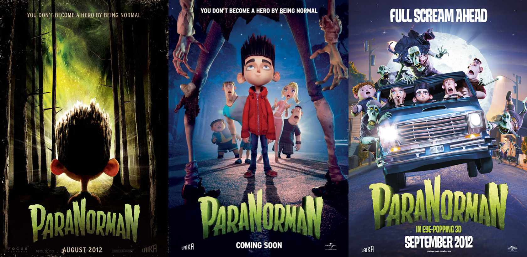 2012 Movie Poster: ParaNorman – Poster Art