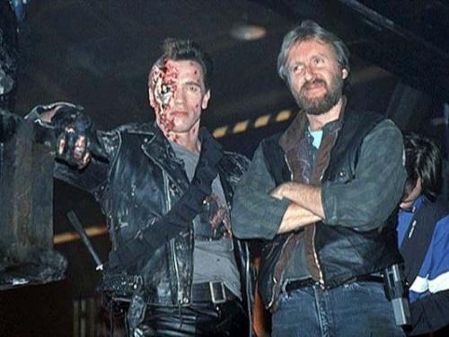 Imágenes de la grabación de Terminator 1