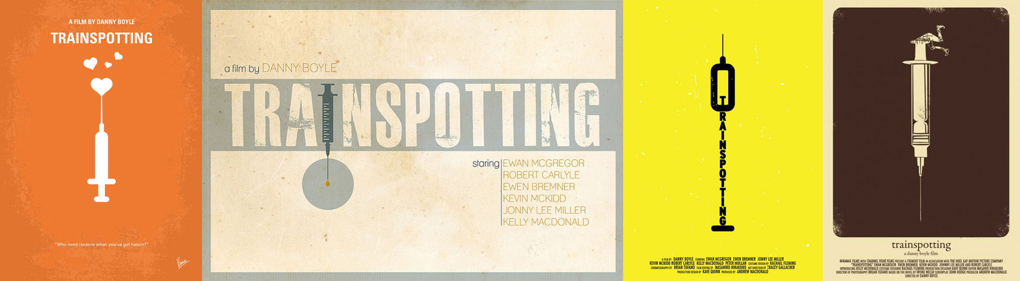 Trainspotting Poster Minimalist Trainspotting – Minimalist