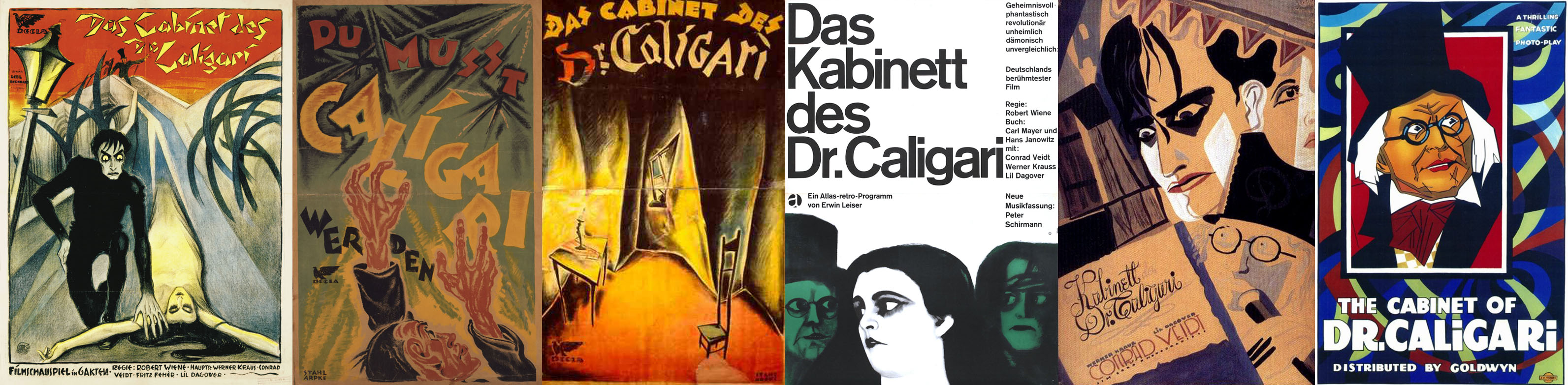 The Cabinet of Dr Caligari_poster banner | socialpsychol