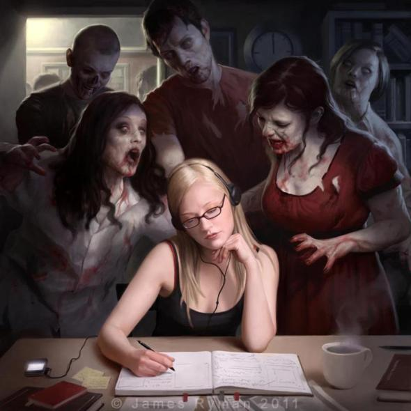 Zombie Art_James Ryman