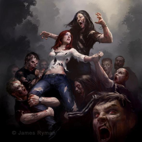 James Ryman_Zombie Art