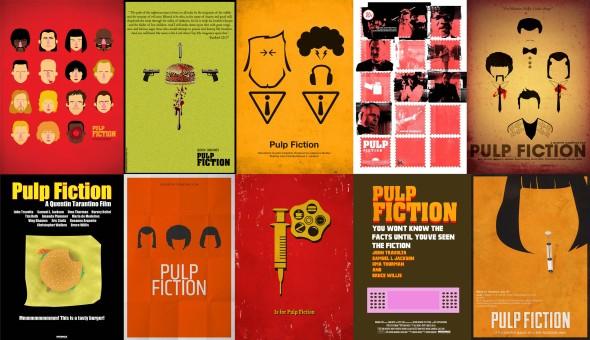 Pulp Fiction_Fan Art Posters