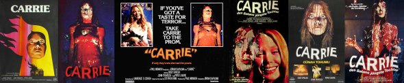 Carrie_movie posters