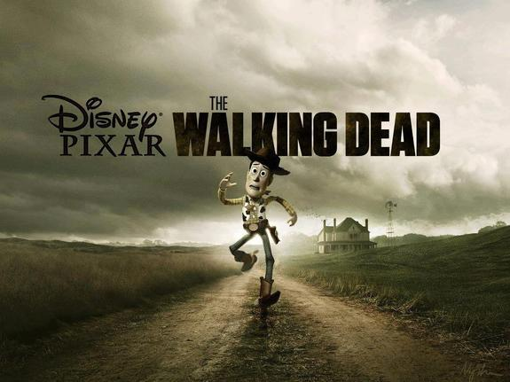 Disney-Pixar_The Walking Dead