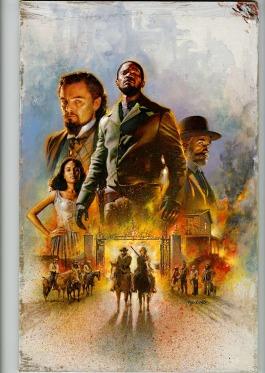 Matt Butkus_Django Unchained_poster 1