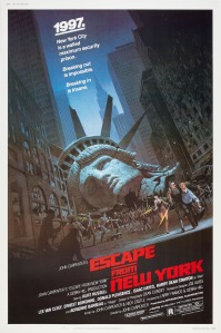Escape From New York_One Sheet Poster US