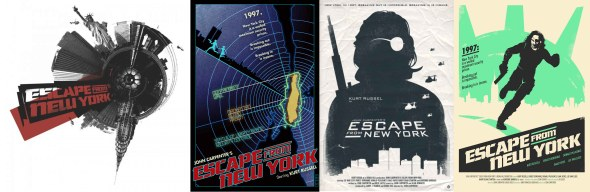 Escape From New York_Fan Poster Art