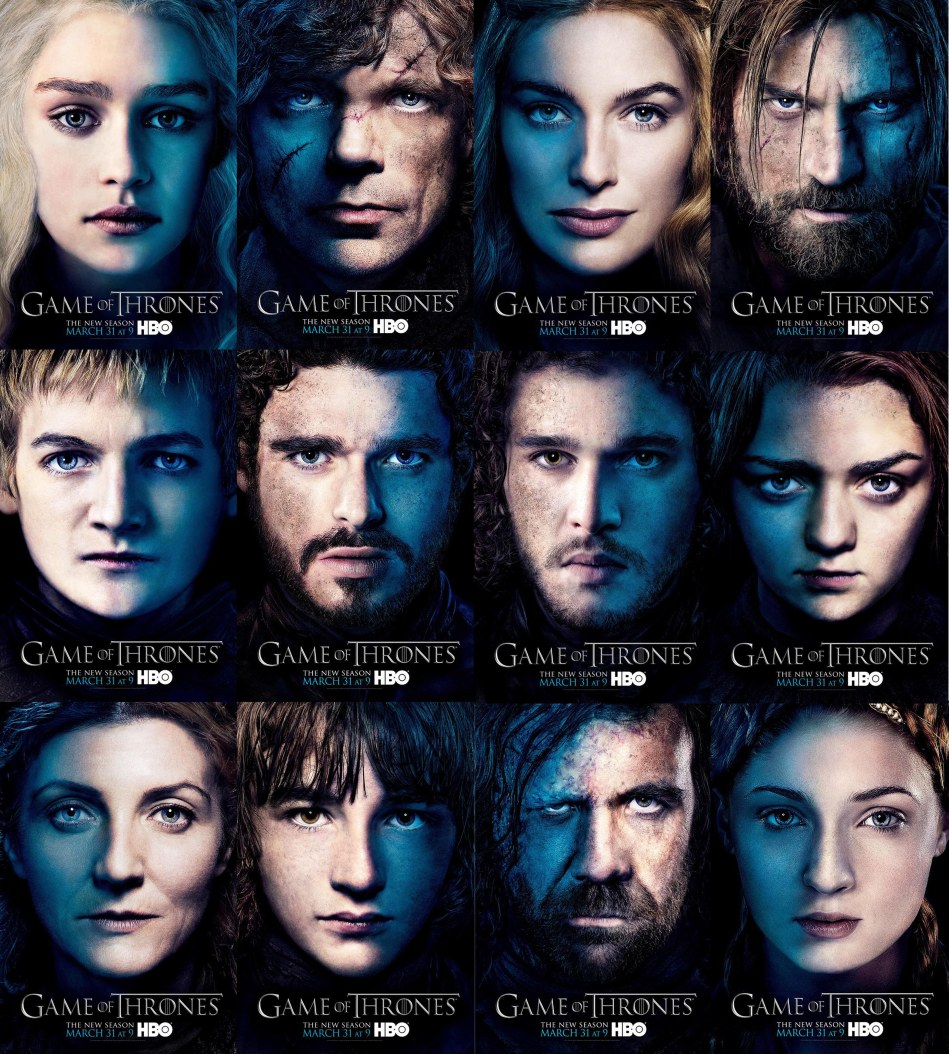 Game of Thrones_Character Posters
