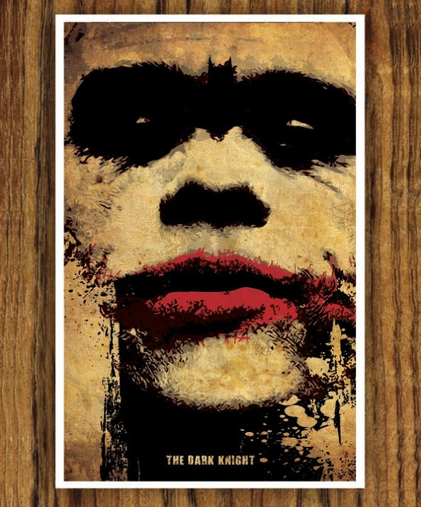 The Dark Knight_Poster Art