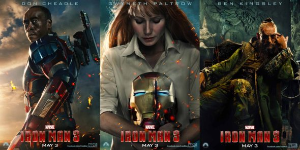 Iron Man 3_posters