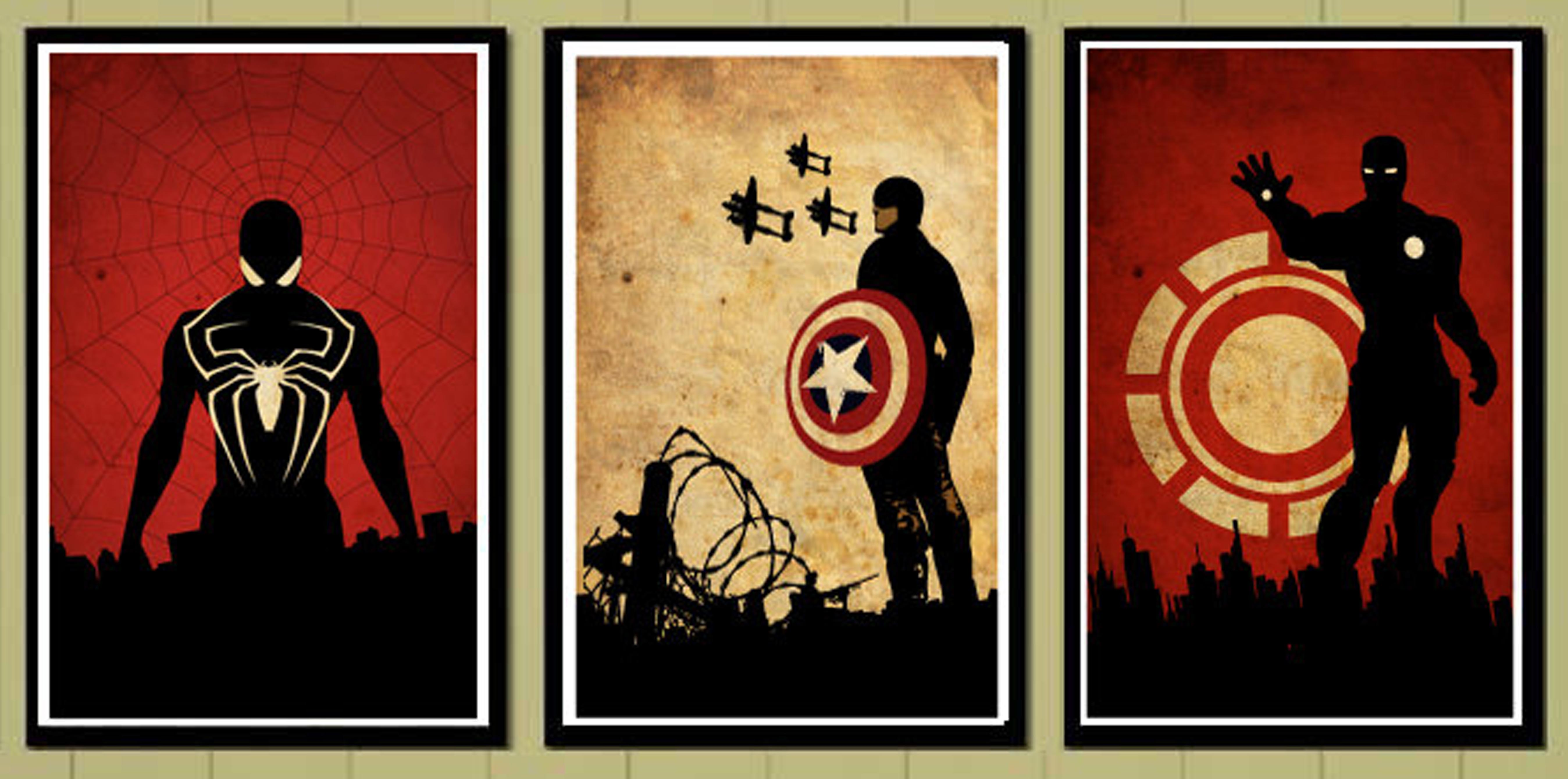 Marvel poster art socialpsychol for Posters art prints