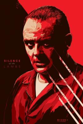 Ken-Taylor-Silence-of-the-Lambs-poster-regular-mondo