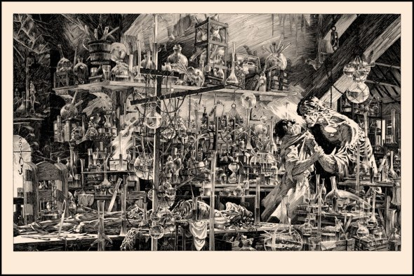 Frankenstein_Berni Wrightson