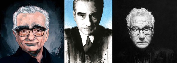 Martin Scorsese_portrait art