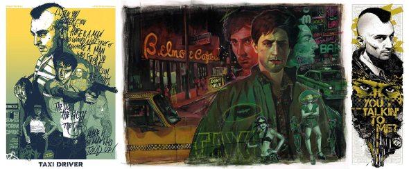Martin Scorsese_Taxi Driver_Poster Art