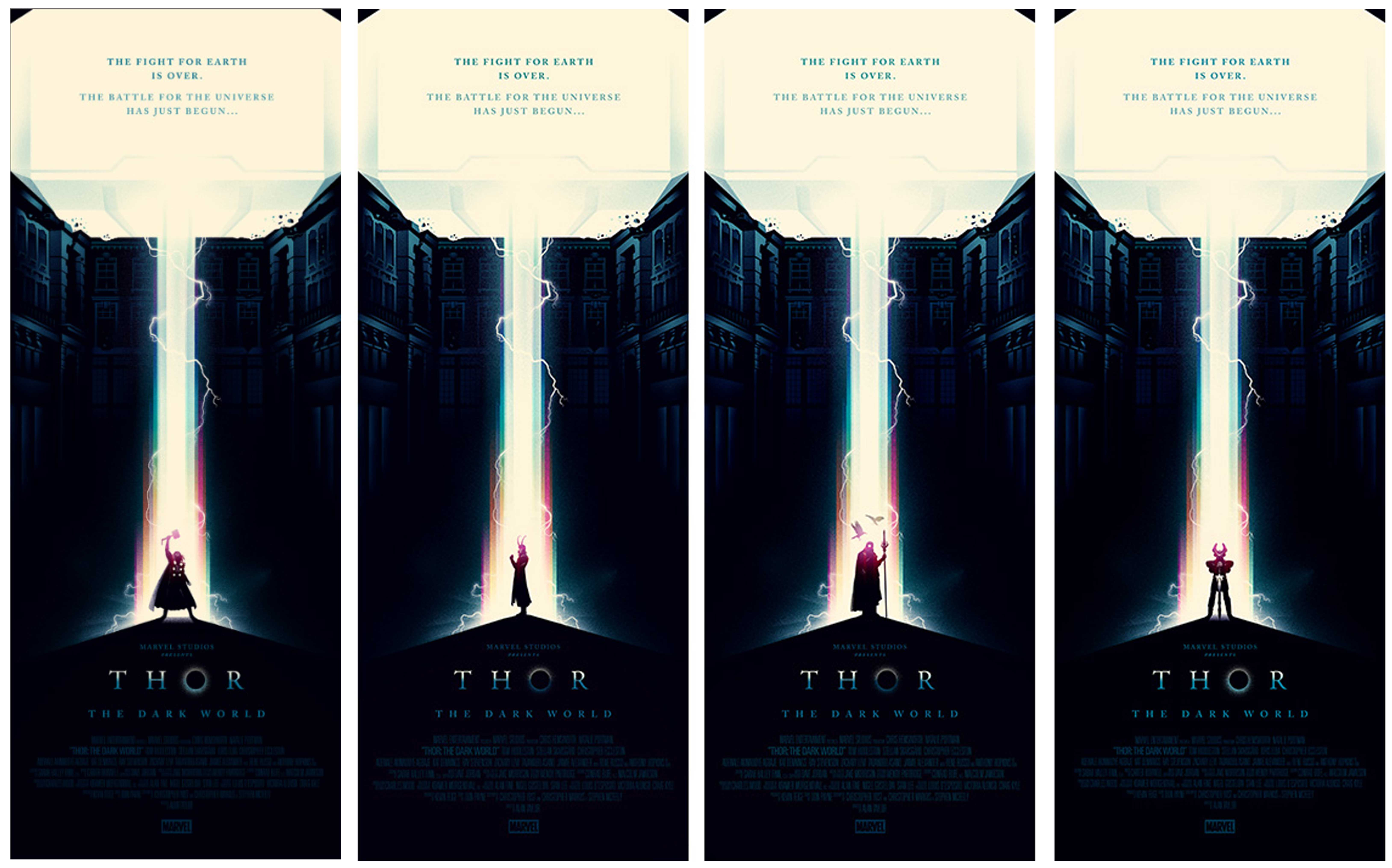 Thor-The Dark World_Olly Moss | socialpsychol