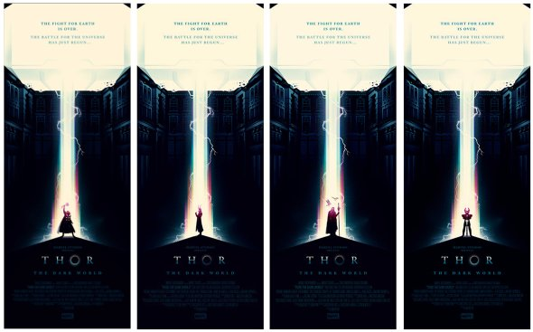 Thor-The Dark World_Olly Moss