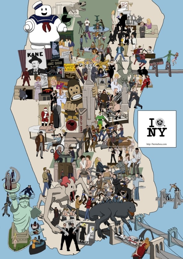 New York Movie Map