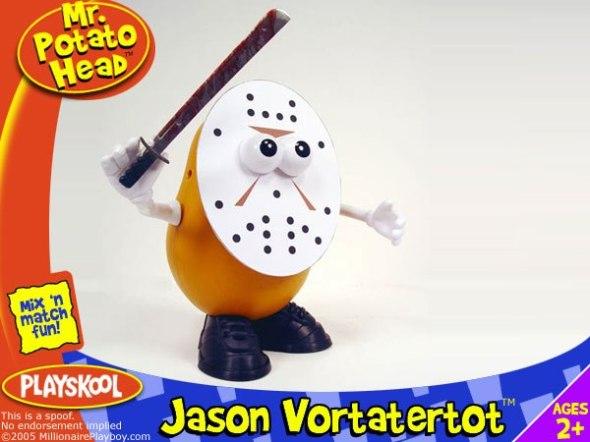 Jason Voorhees Potato Head