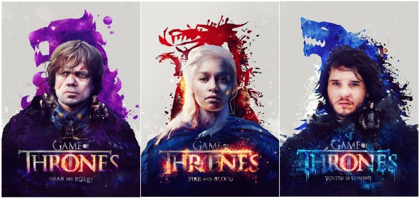 Game of Thrones_Poster Art
