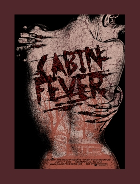 Cabin Fever_Days of the Dead_Poster Art
