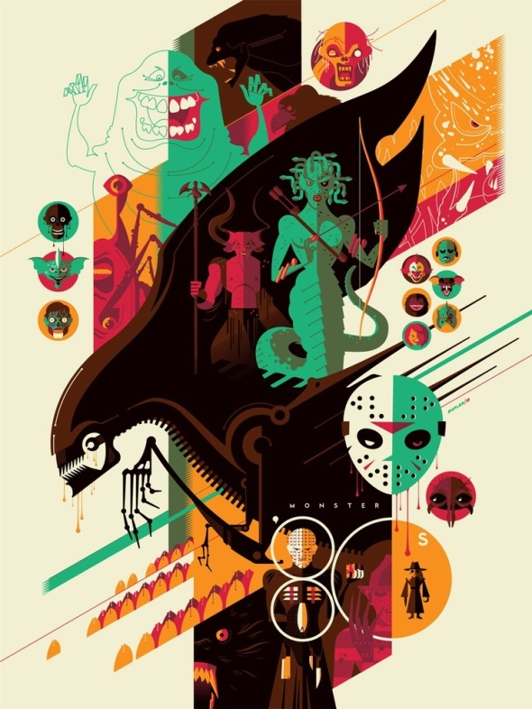 80s Monsters_Tom Whalen