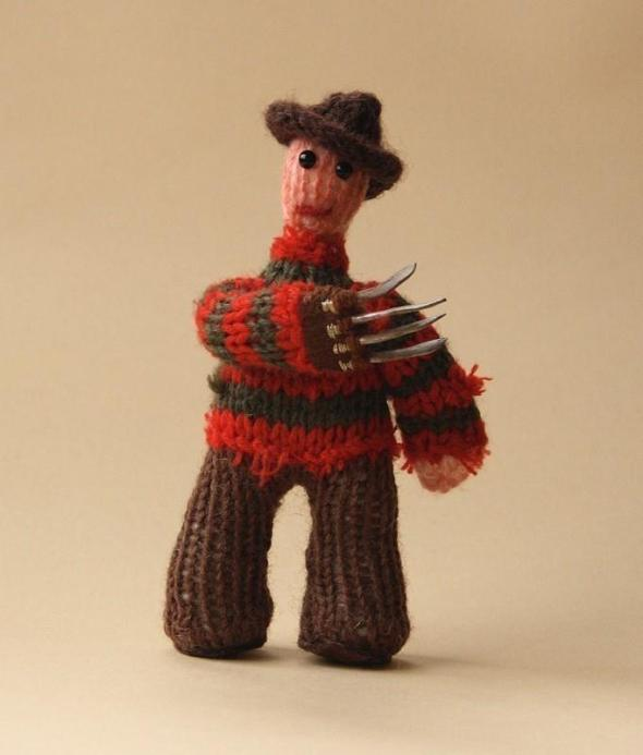 Freddy Krueger_Wool Doll