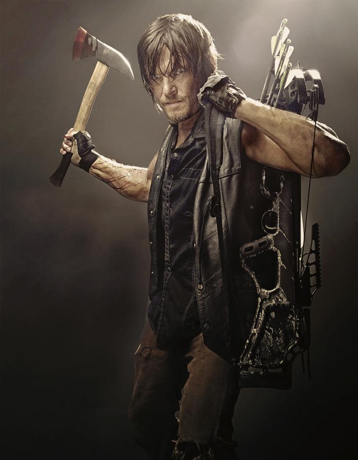 The Walking Dead Daryl Zombie