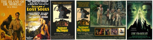 Island of Dr Moreau_H G Wells_Banner