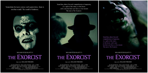 The Exorcist_Poster Art_Silver Ferox Design