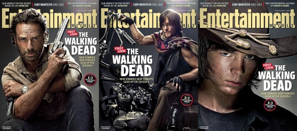 The Walking Dead_Season 4_Entertainment Weekly Covers