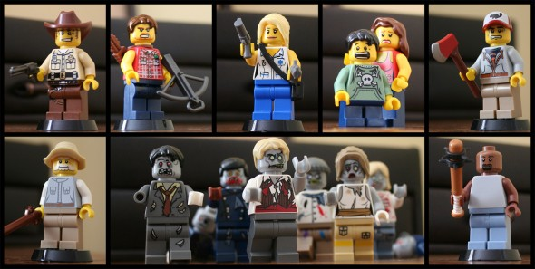 The Walking Dead_LEGO