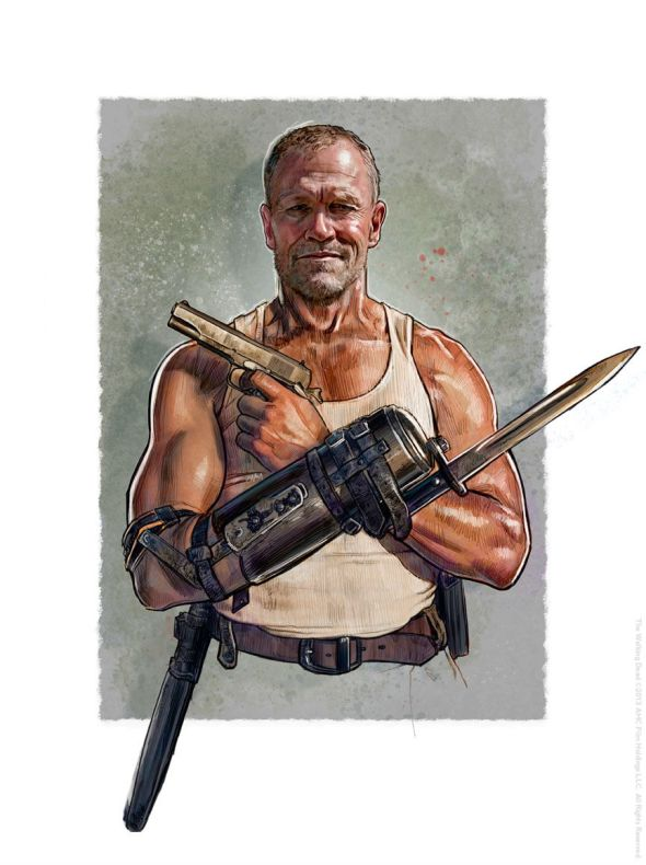 The Walking Dead_Merle_Jason-Palmer