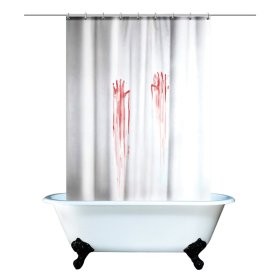 Bloody_Shower Curtain