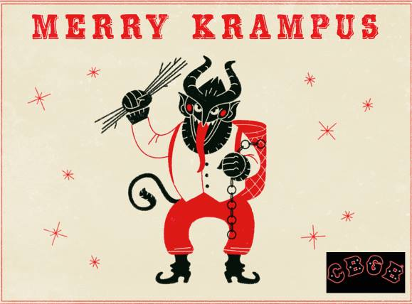 Merry Krampus_CBGB