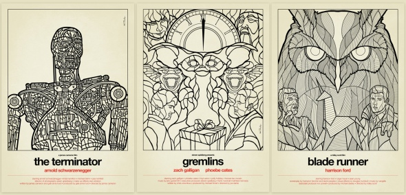 Terminator_Gremlins_Blade-Runner_Stained-Glass_Art_Line