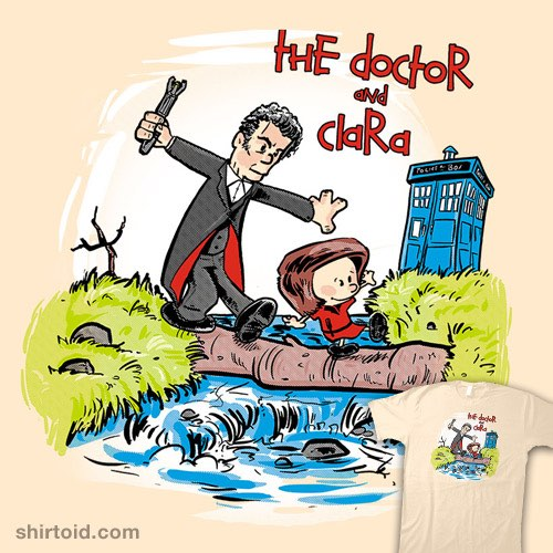 Dr-Who-and-Clara_t-Shirt_Watterson